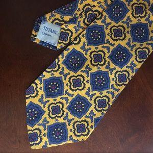 Vintage Tiffany Co. 100% Silk Necktie